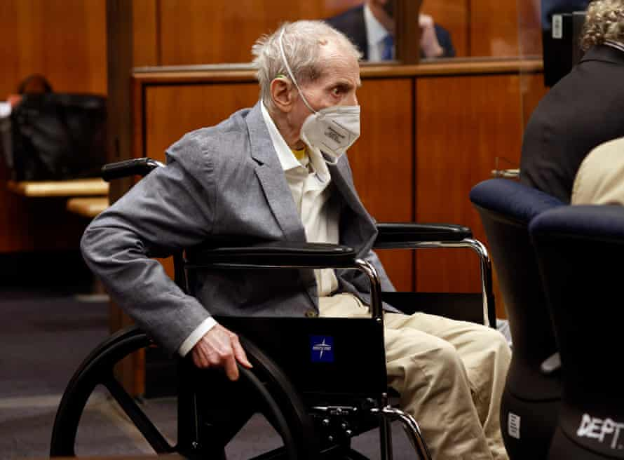 Durst in the courtroom in Inglewood, California.