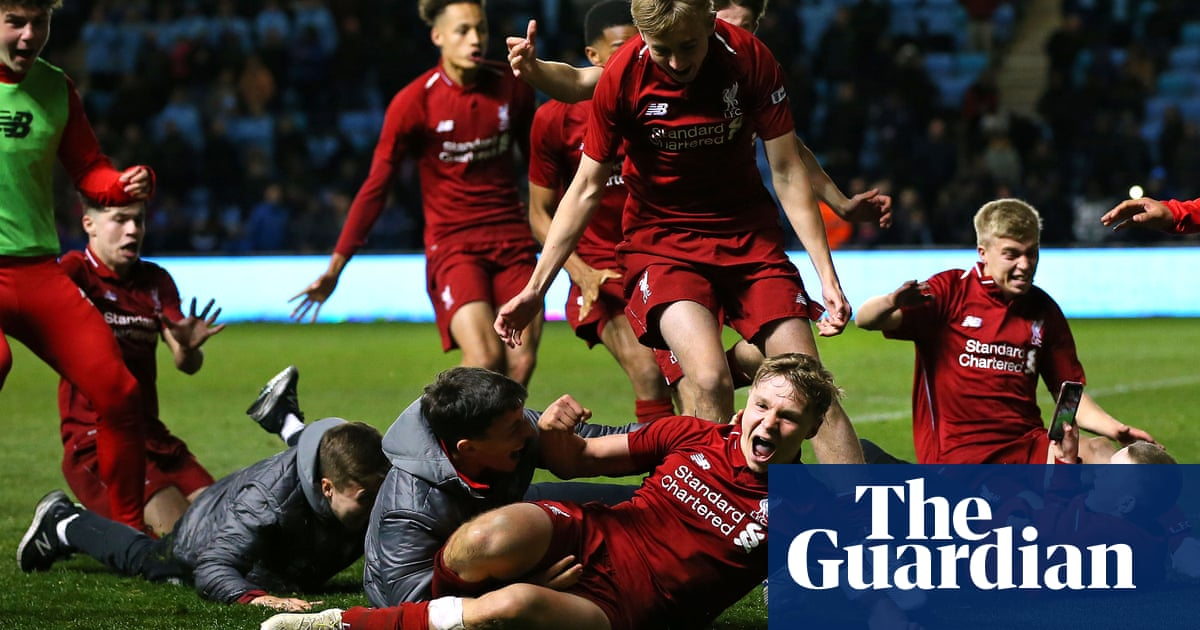 fdbcbcde2 Liverpool win FA Youth Cup after penalty shootout with Manchester City