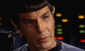 'The subculture around Star Trek has been famously, variously productive for a long time.' Leonard Nimoy as Spock.