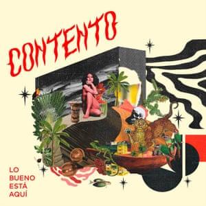 Contento: Lo Bueno Está Aquí album cover.