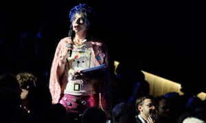 David Hoyle as host in Philip Venables' new music work The Gender Agenda.