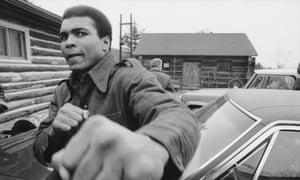 Muhammad Ali in 1974.