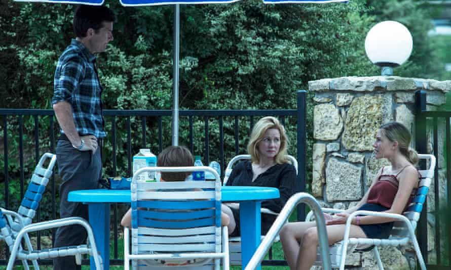 Jason Bateman, Linney and Sofia Hublitz in Ozark … 'I suspected he had a much larger range than he'd been allowed to express'