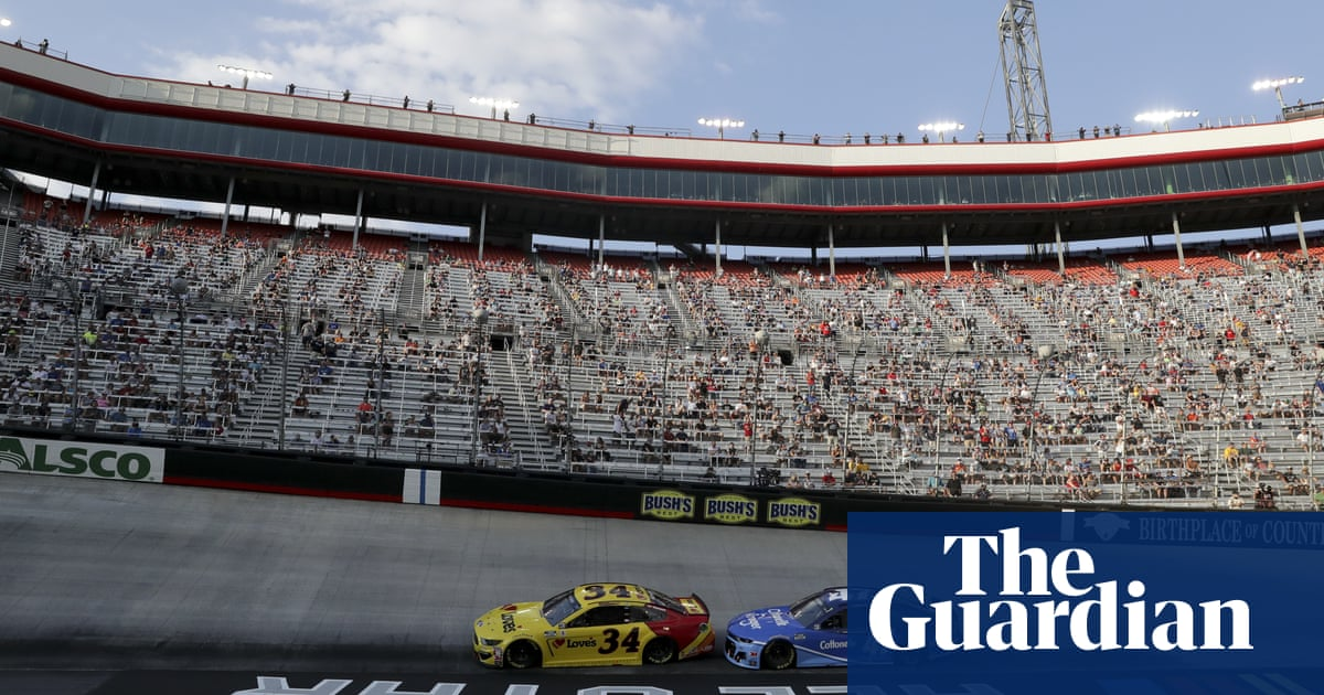 Nascar race in Bristol draws 20,000 fans, largest US sports crowd since March - the guardian