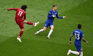 Mohamed Salah provides the sparkle with a spectacular goal for Liverpool.
