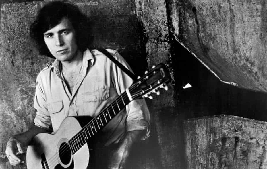 'You couldn't talk about my sister because you couldn't tell the truth' … Don McLean in the 1970s.