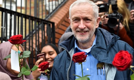 Jeremy Corbyn at Finsbury Park mosque