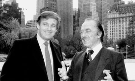 Donald Trump and father Fred Trump, a 'high-functioning sociopath', according to Mary Trump.