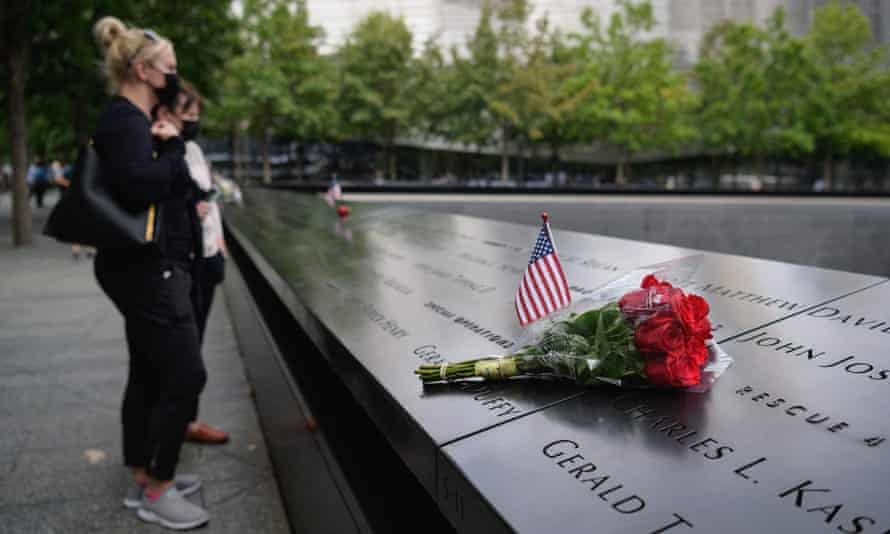 Flowers this week at the September 11 Memorial, marking the site of the south tower at the World Trade Center in New York.