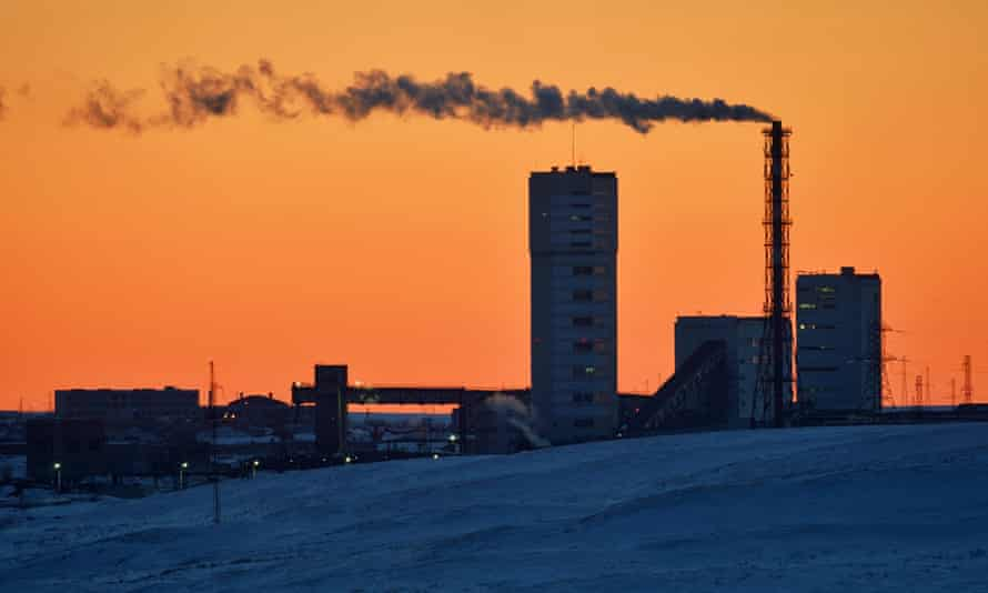 Vorkuta coal mine