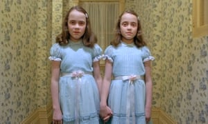 Lisa and Louise Burns, the Grady twins in The Shining
