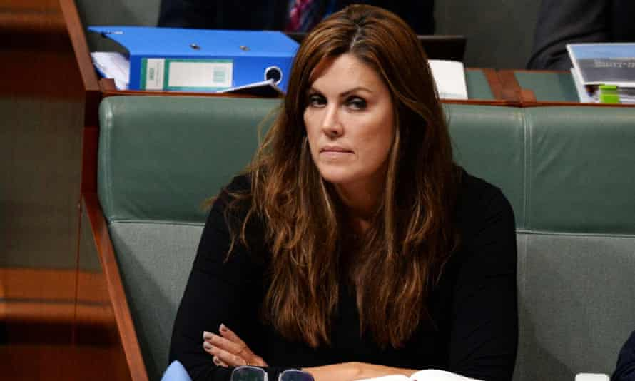 Former Australian Liberal Party Chief of Staff Peta Credlin during Question Time in the House of Representatives at Parliament House in Canberra, 8 September 2015.