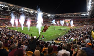 Suncorp Stadium in Brisbane.