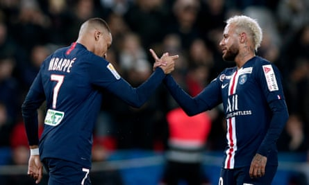 Kylian Mbappé and Neymar have played their last game in Ligue 1 this season.