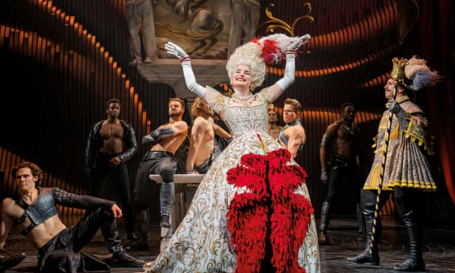 A scene from Andrew Lloyd Webber's Cinderella at the Gillian Lynne theatre which has been widely praised by critics.