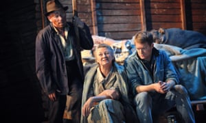 An adaptation of The Grapes Of Wrath at the Chichester festival theatre.