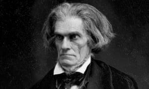 John C Calhoun by Mathew Brady, 1849. Some scholars think the senator and vice-president was Melville's model for Captain Ahab.