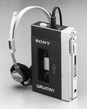 Walkman headphones, 1979