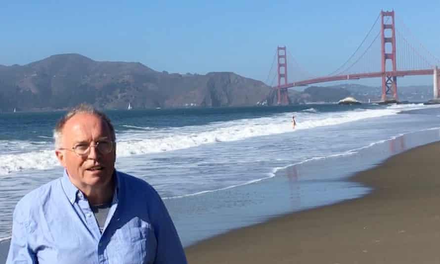 David Reynolds on Baker Beach San Francisco.