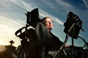 Stephen Hawking in 2005