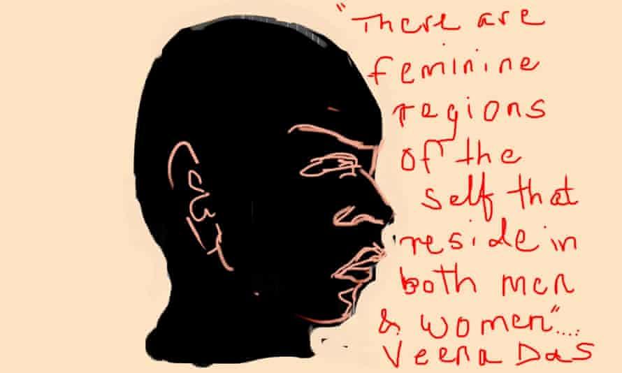 A still from Feminine Masculine, 2018, by Nalini Malani.