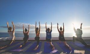 Yoga at Amouage, Taghazout
