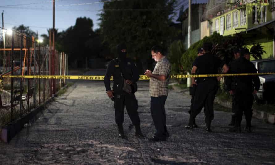 El Salvador crime scene