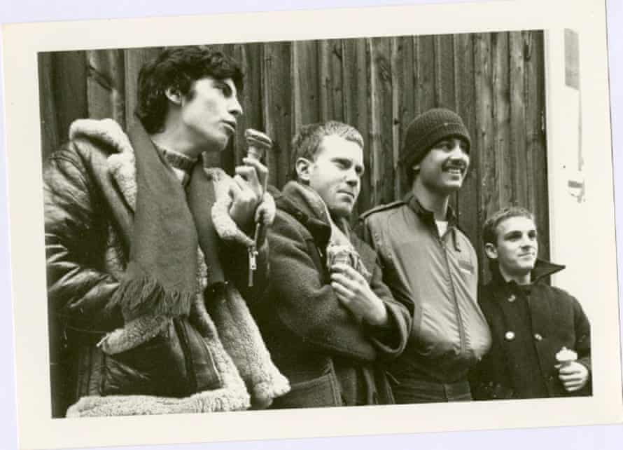 Freeez … Paul Morgan, Andy Stennett, Peter Maas and John Rocca in 1980.