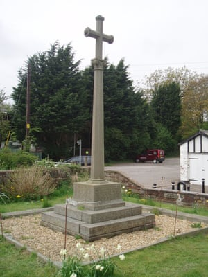 The cross in Winsford, Cheshire.