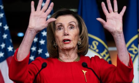 House speaker Nancy Pelosi said McConnell 'says it's OK for the foreman of the jury to be in cahoots with the lawyers of the accused … That doesn't sound right to us.'