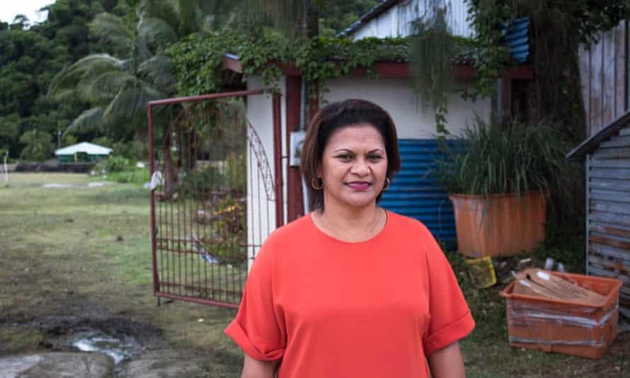Leilani Reklai, President of the Belau Tourism Association on the island of Palau.