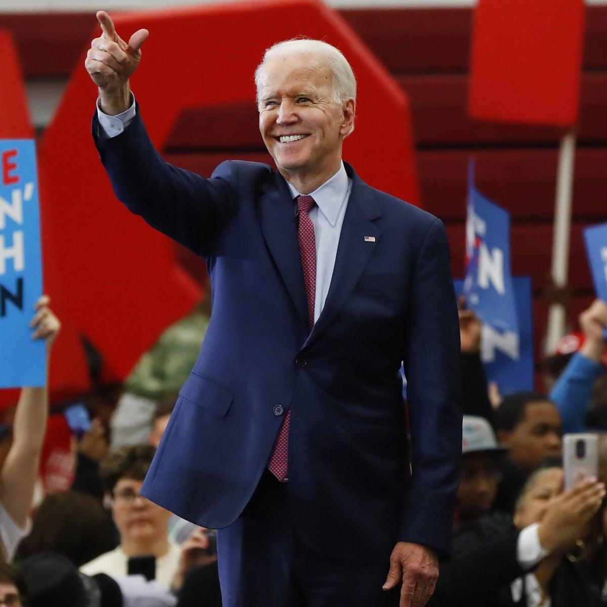 Joe Biden Positions Himself As Bridge To Next Generation At Michigan Rally Joe Biden The Guardian
