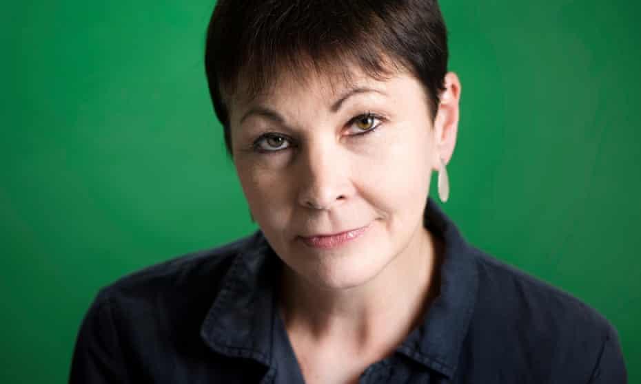 Outgoing Greens co-leader Caroline Lucas