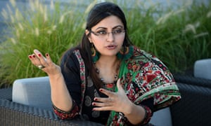 Gulalai Ismail explains her decision to flee Pakistan during an interview in Washington.