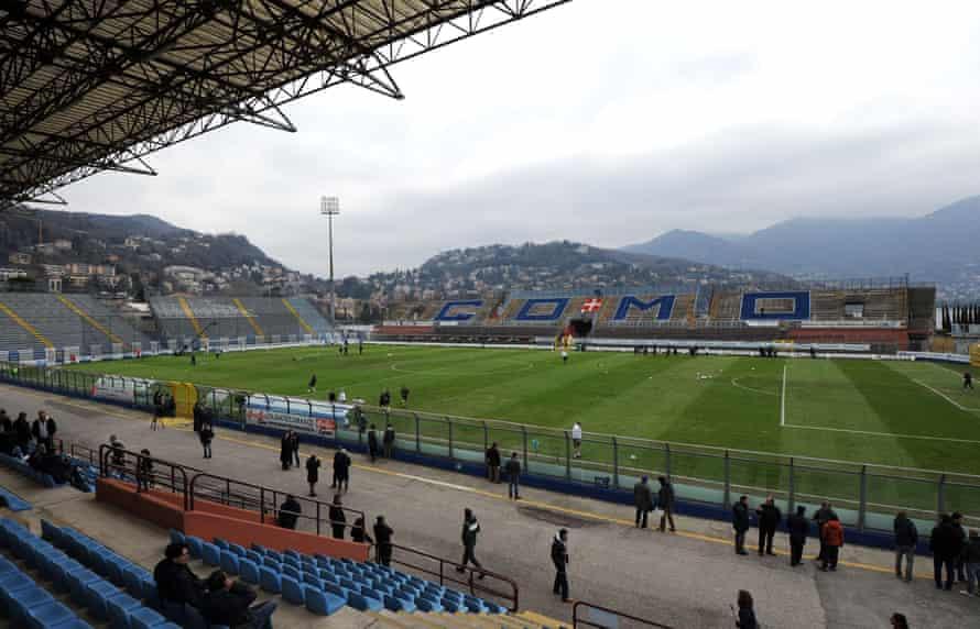 The Stadio Giuseppe Sinigaglia.