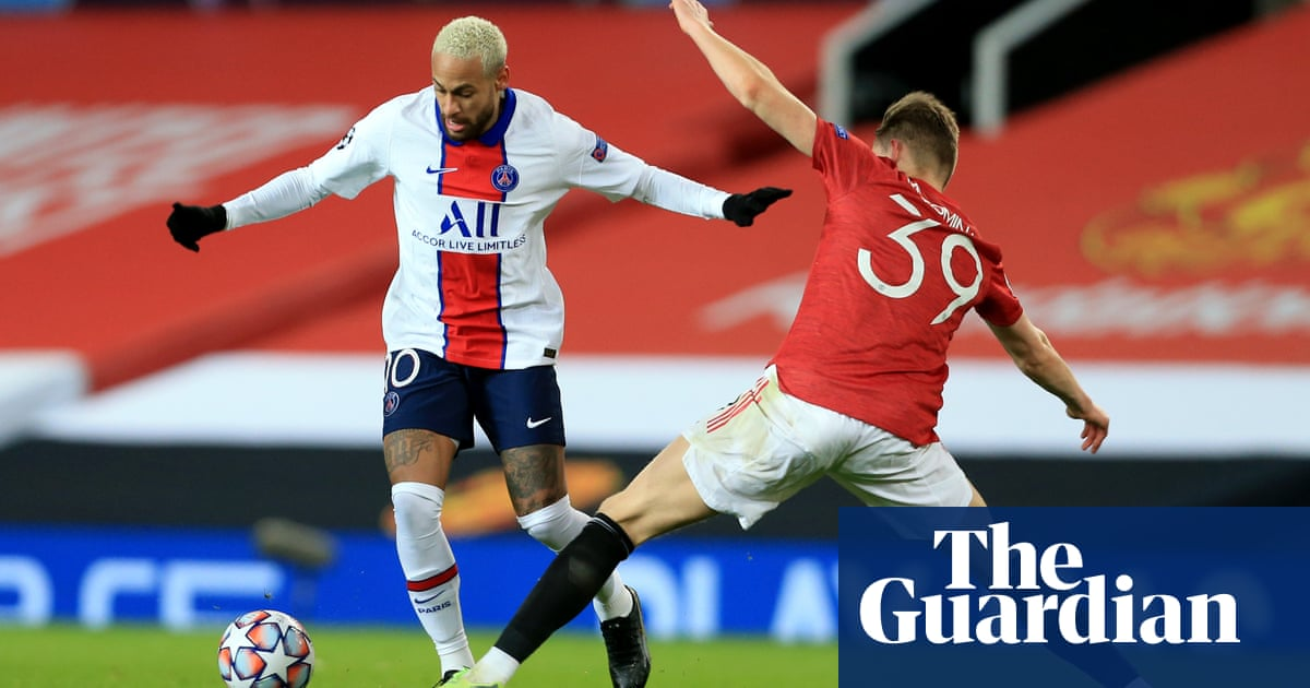 Solskjær's failure to see red allows Neymar to dictate defeat | Barney Ronay