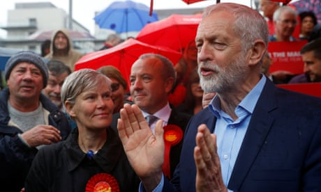 Corbyn says local elections show voters want deal done on Brexit