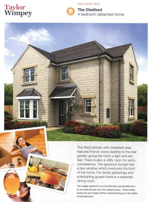 Taylor Wimpey's Dale Moor View development in Rossendale