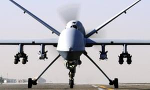 An RAF Reaper drone
