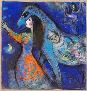 L'Écuyère by Marc Chagall, left to National Galleries Scotland.