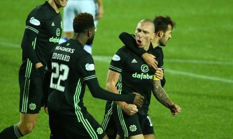 Scott Brown scores on return in Celtic's reviving win over Kilmarnock