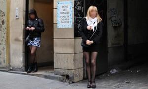 Sex workers in Saint-Denis, Paris