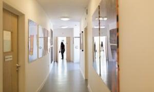 A mental health unit in Britain.