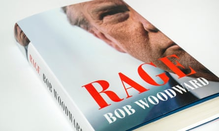 Bob Woodward's book Rage includes material from 17 on-the-record conversations with Donald Trump.
