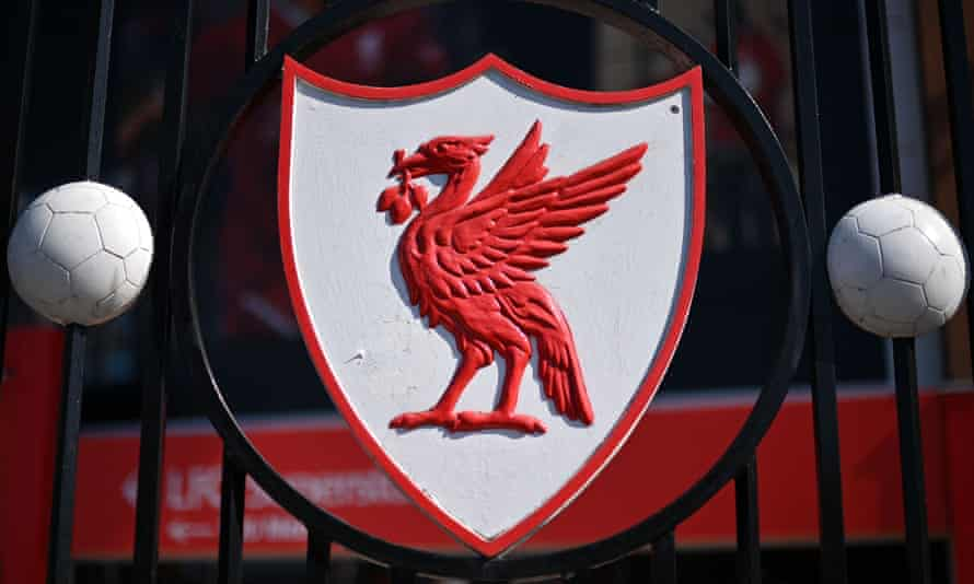 Liverpool's crest at Anfield