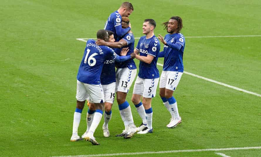 Everton are top of the Premier League after a superb start to the season