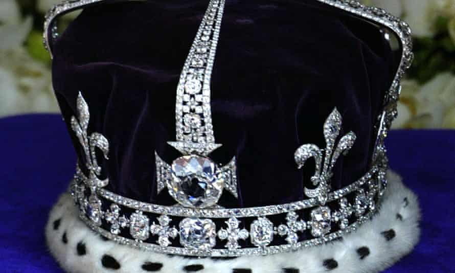 The real diamond is set in the Queen Mother's crown.
