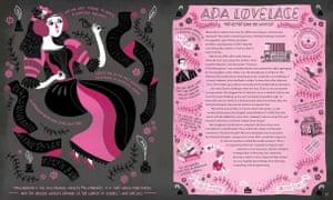 Ada Lovelace, from the book Women in Science by Rachel Ignotofsky