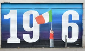Street artist Solus commemorates the 100th anniversary of the Easter Rising with his latest creation.
