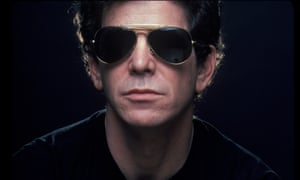 Lou Reed pictured in 1983 in New York City.